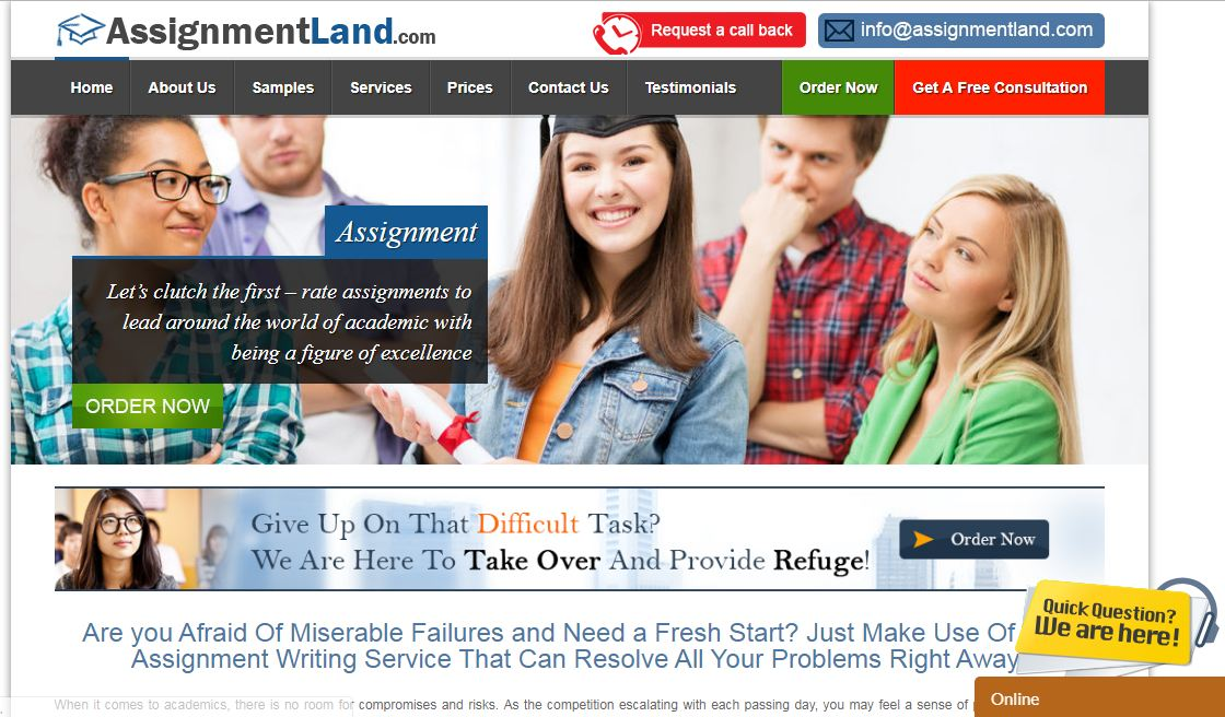 AssignmentLand Review