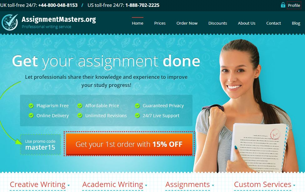 AssignmentMasters Review