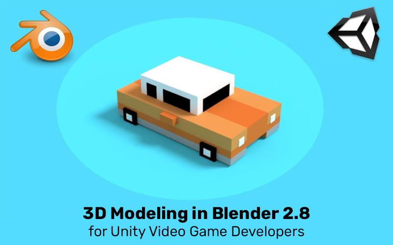 3D Modeling in Blender 2.8 for Unity Video Game Developers (Udemy)