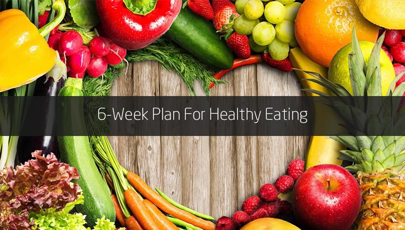 6-Week Plan For Healthy Eating [Harvard]