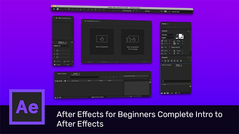 After Effects for Beginners Complete Intro to After Effects [Udemy]