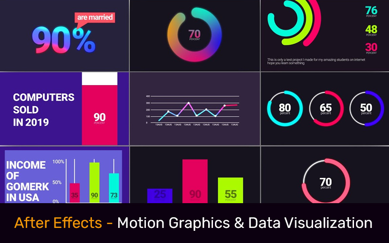 After Effects - Motion Graphics & Data Visualization [Udemy]