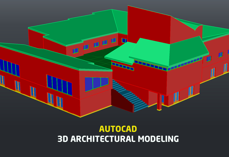 AutoCAD: 3D Architectural Modeling [Lynda]