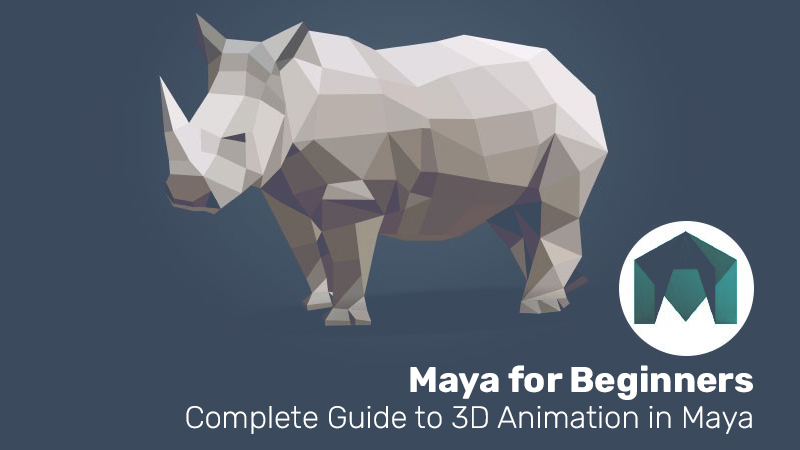 Maya for Beginners: Complete Guide to 3D Animation in Maya (Udemy)