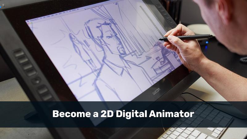Become a 2D Digital Animator (LinkedIn)