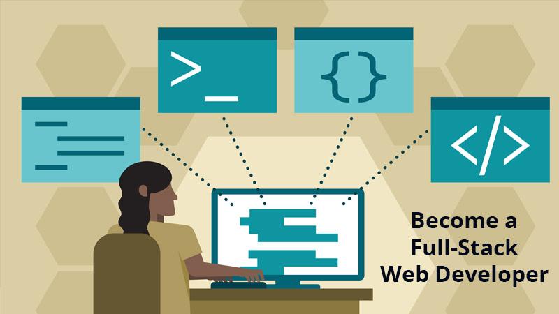Become a Full-Stack Web Developer [LinkedIn]