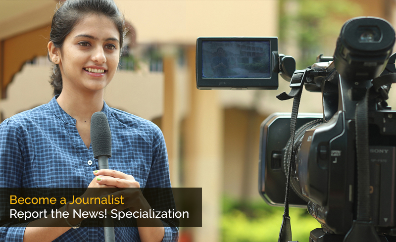 Become a Journalist: Report the News! Specialization By Michigan State University [Coursera]