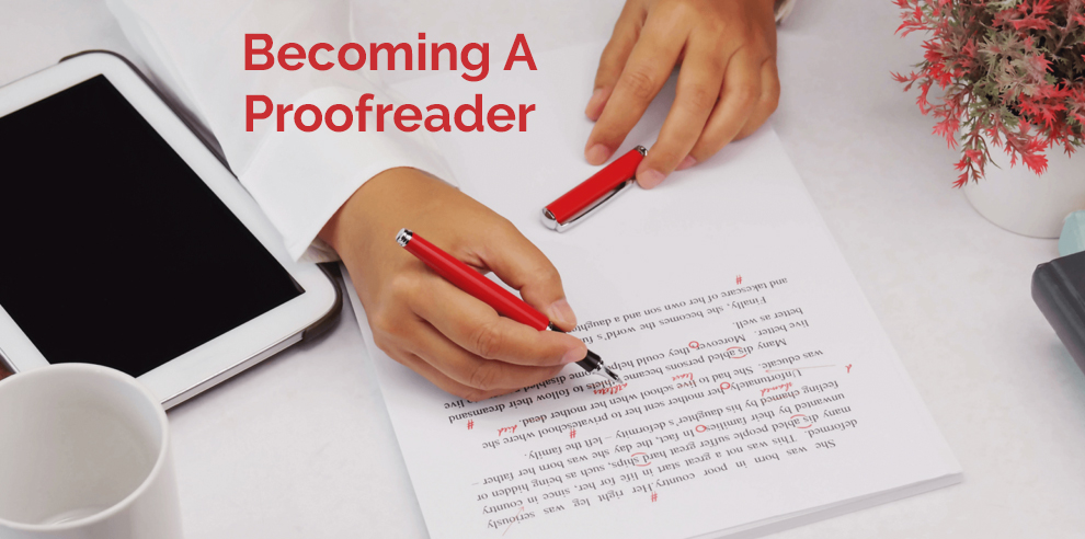 Becoming A Proofreader – Proofreading Academy