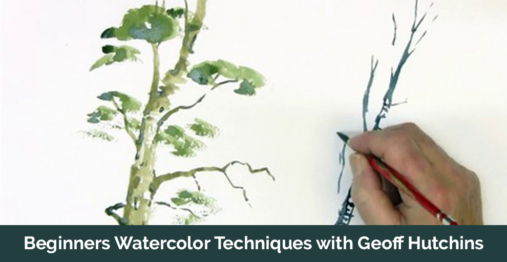 Beginners Watercolor Techniques with Geoff Hutchins - Udemy