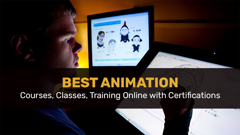 Best Animation Courses, Classes, Training Online with Certifications