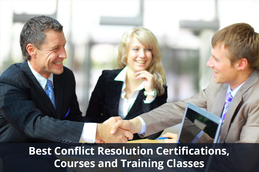 Best Conflict Resolution Certifications, Courses and Training Classes