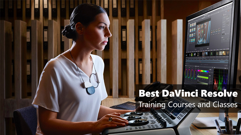 Best DaVinci Resolve Training Courses and Classes