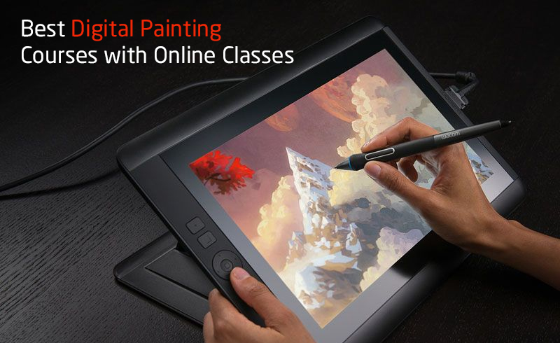 Best Digital Painting Courses with Online Classes
