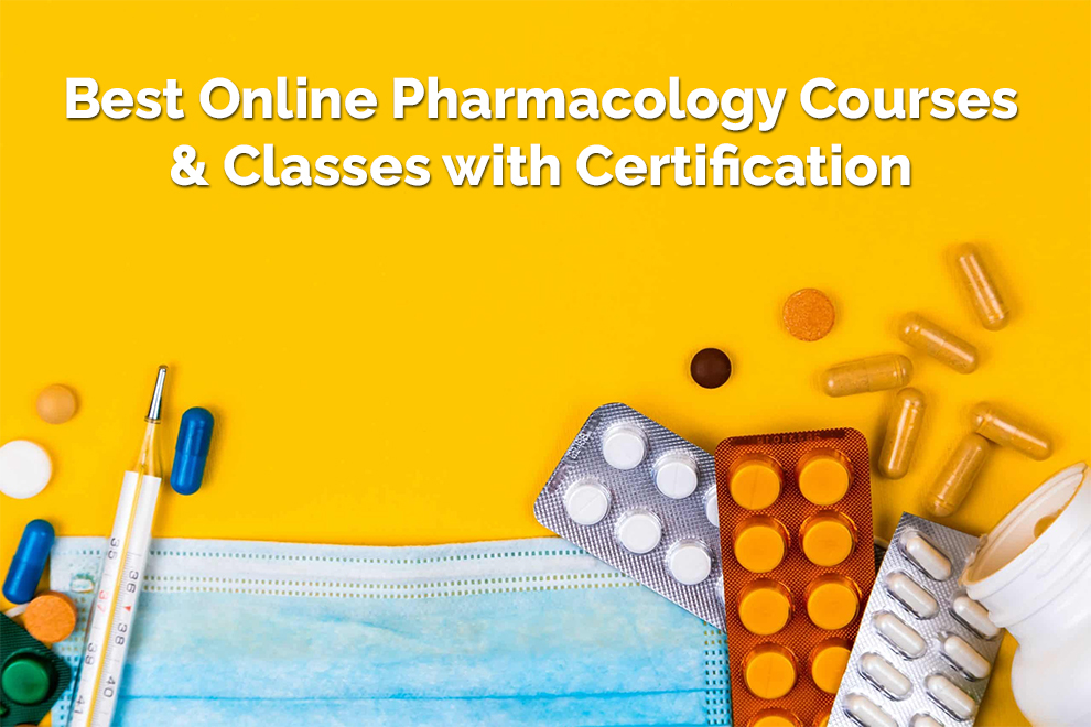 Best Online Pharmacology Courses & Classes with Certification