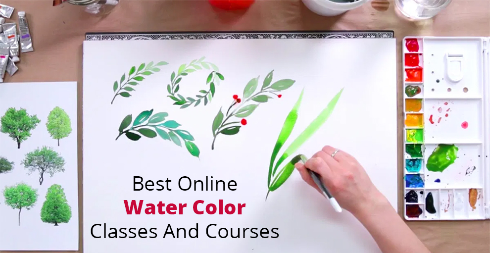 Best Online Watercolor Classes and Courses