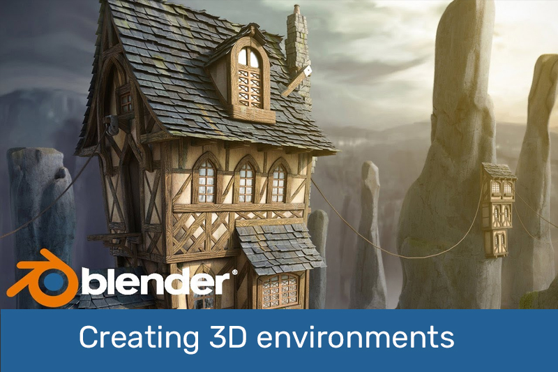 Creating 3D environments in Blender (Udemy)