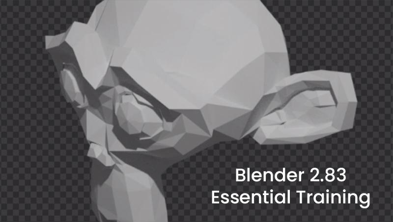 Blender 2.83 Essential Training (LinkedIn)