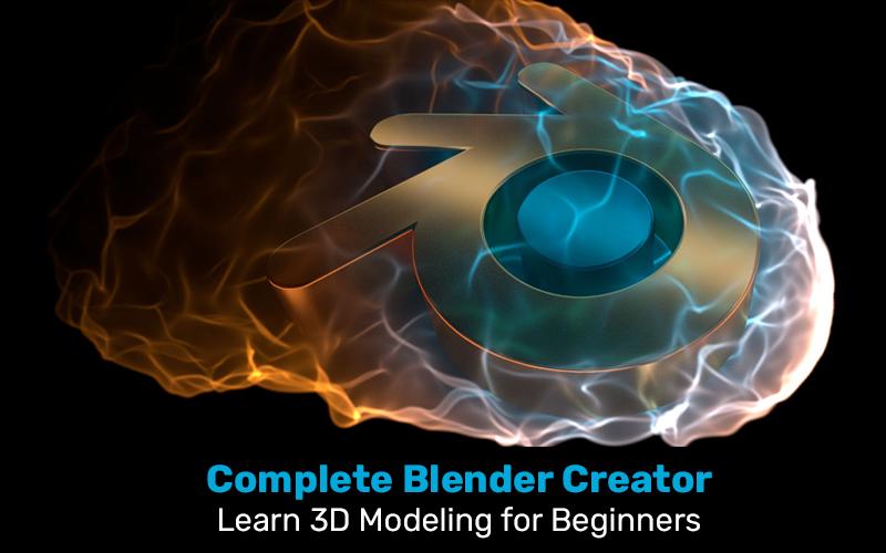 Complete Blender Creator: Learn 3D Modeling for Beginners (Udemy)