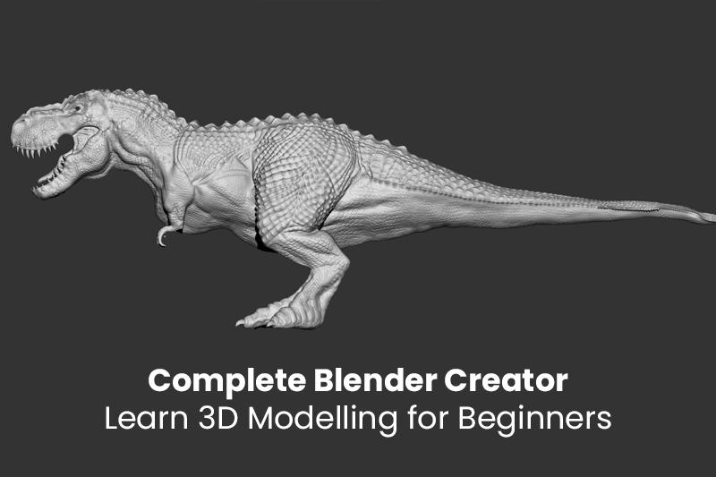 Complete Blender Creator: Learn 3D Modelling for Beginners (Udemy)