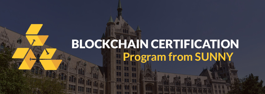 Blockchain Certification from State University of New York SUNY