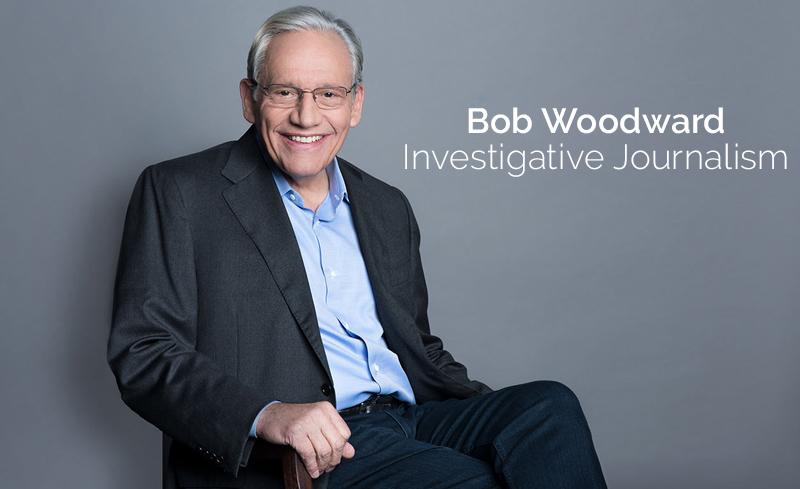 Bob Woodward – Investigative Journalism [Masterclass]