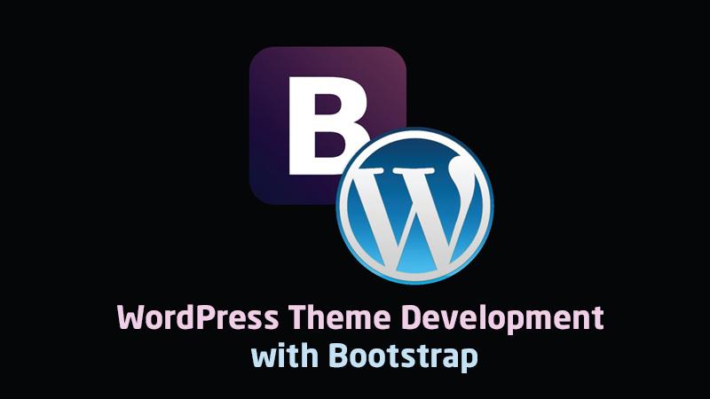 WordPress Theme Development with Bootstrap (Udemy)
