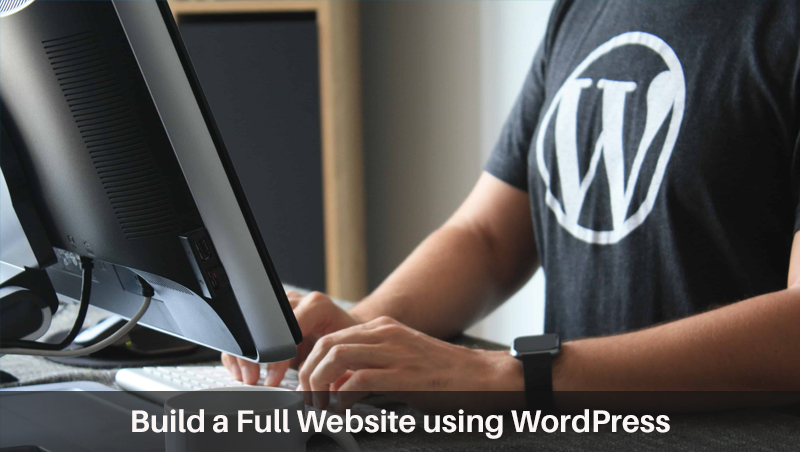 Build a Full Website using WordPress (Coursera)