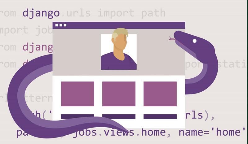 Building a Personal Portfolio with Django [LinkedIn]