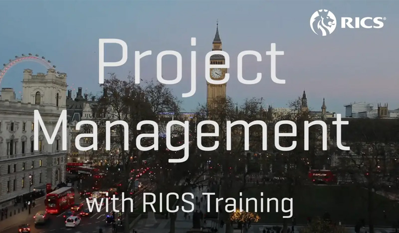 Certificate in Construction Project Management by RICS
