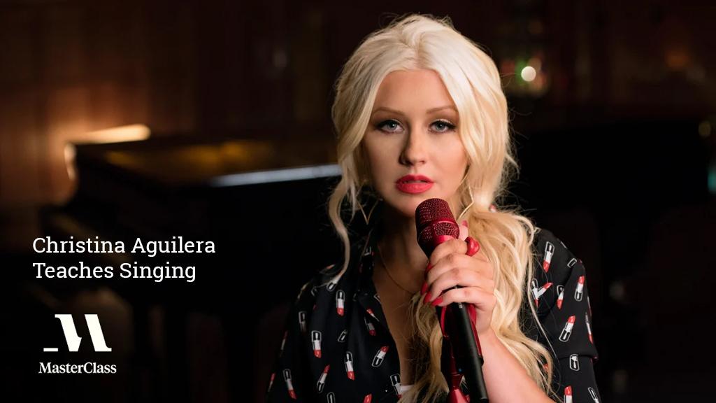 Christina Aguilera Teaches Singing [MasterClass]