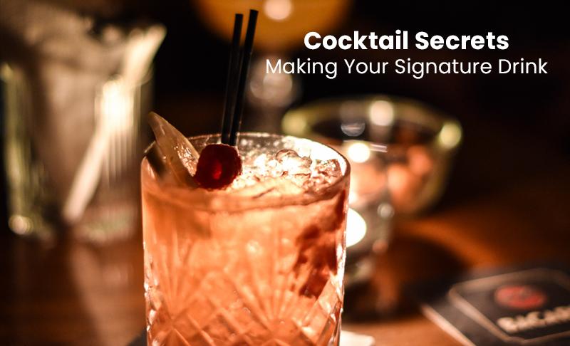 Cocktail Secrets: Making Your Signature Drink [SkillShare]