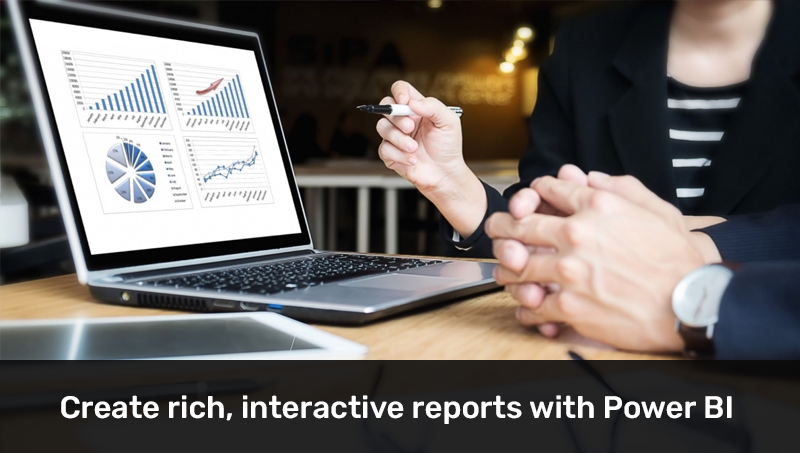 Create rich, interactive reports with Power BI (LinkedIn)