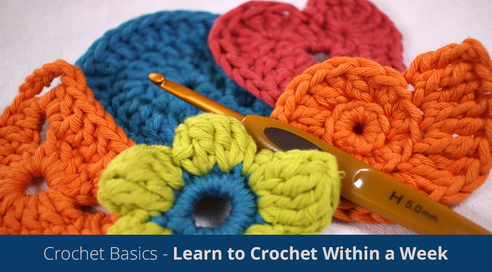 Crochet Basics - Learn to Crochet Within a Week! [Udemy]