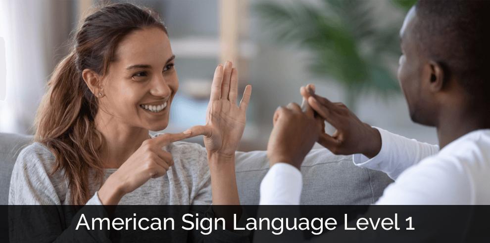 American Sign Language Level 1 [Udemy]