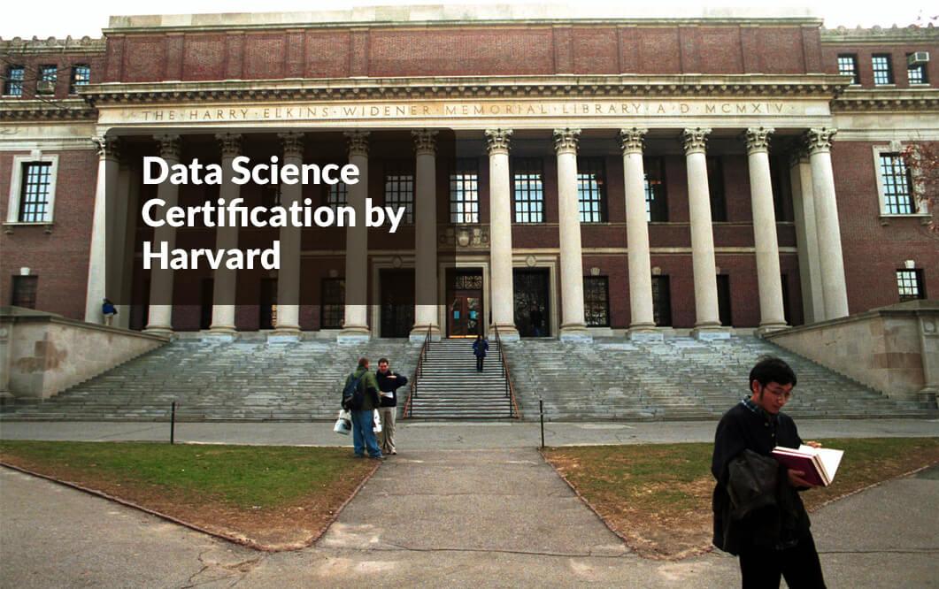 Online Data Science Certification from Harvard University