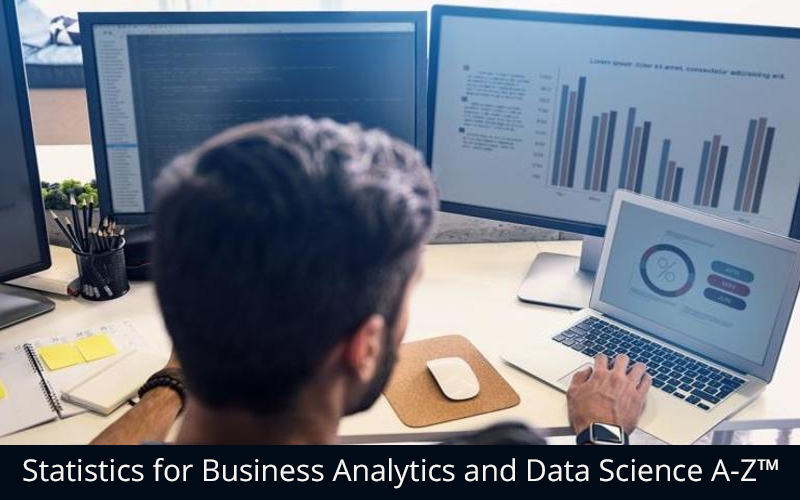 Statistics for Business Analytics and Data Science A-Z™[Udemy]