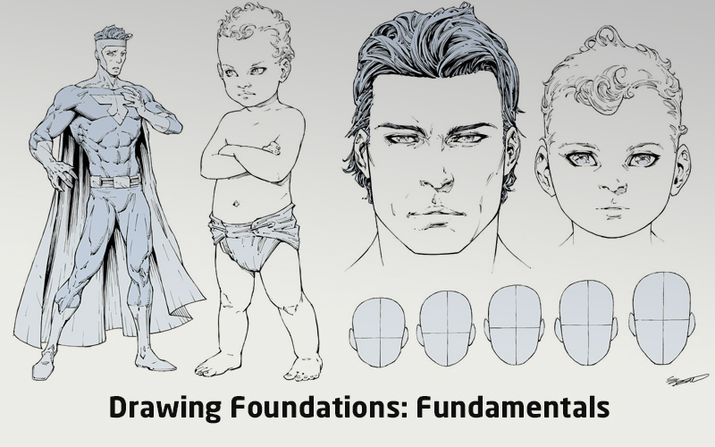 Drawing Foundations: Fundamentals (LinkedIn Learning)