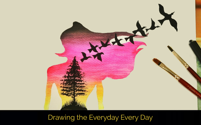 Drawing the Everyday Every Day (Creativelive.com)