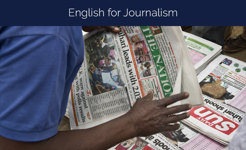 English for Journalism by the University of Pennsylvania [Coursera]