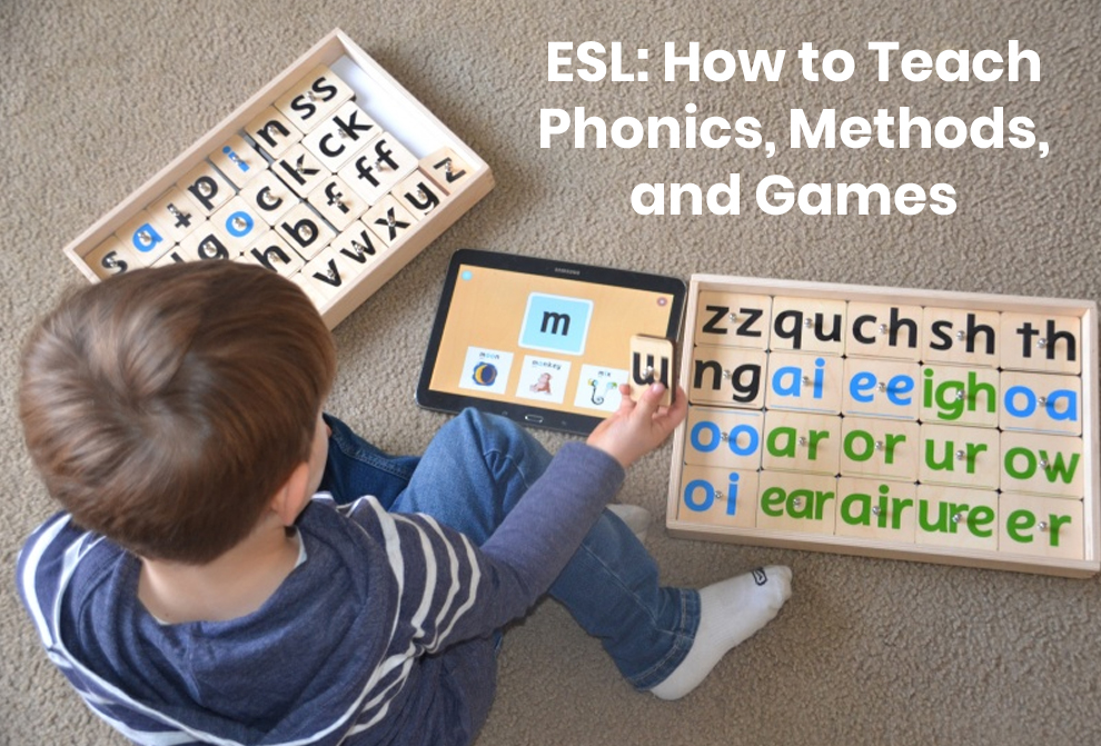 ESL: How to Teach Phonics, Methods, and Games [Skillshare]