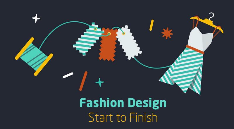Fashion Design – Start to Finish [Creative Live]