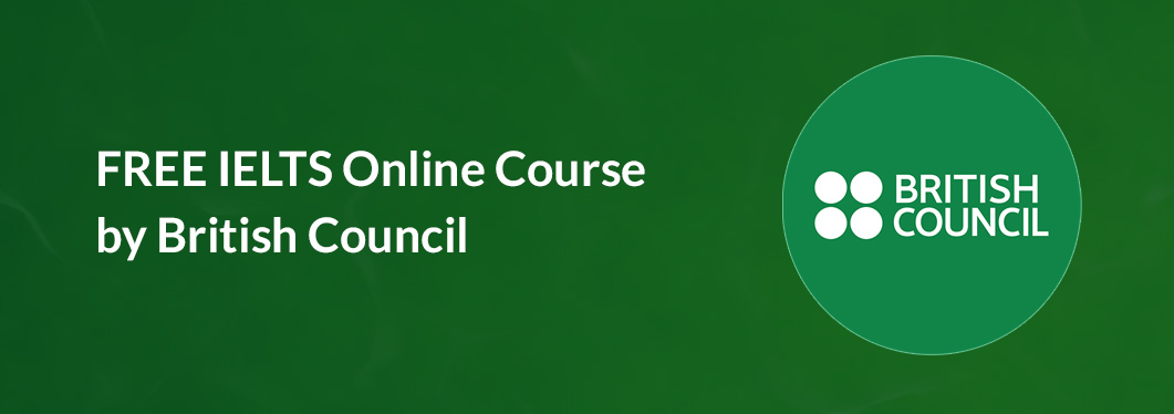 FREE IELTS Online Course by British Council