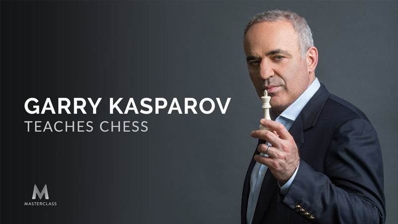 Garry Kasparov Teaches Chess [Masterclass]