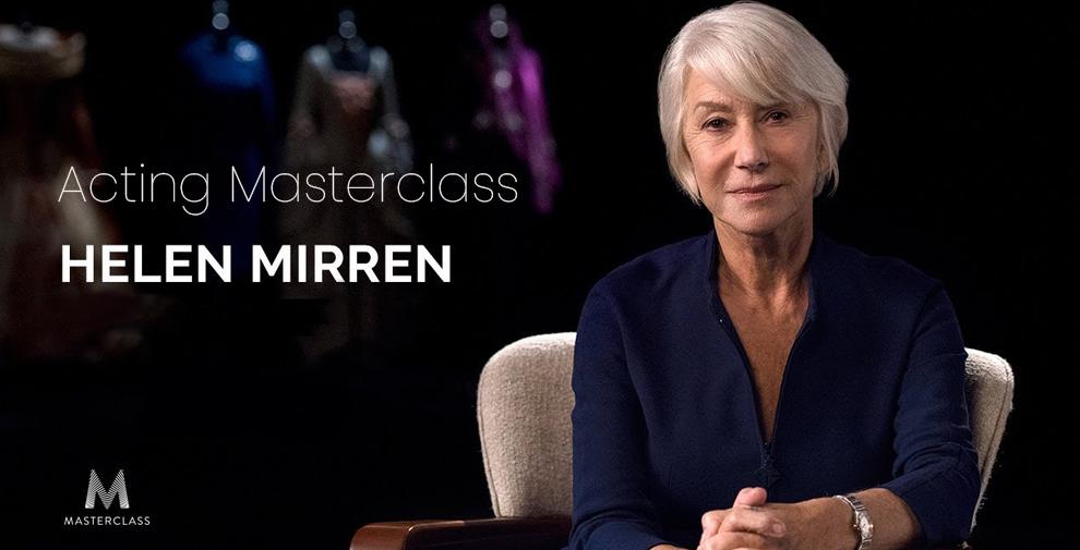Acting Masterclass - Helen Mirren