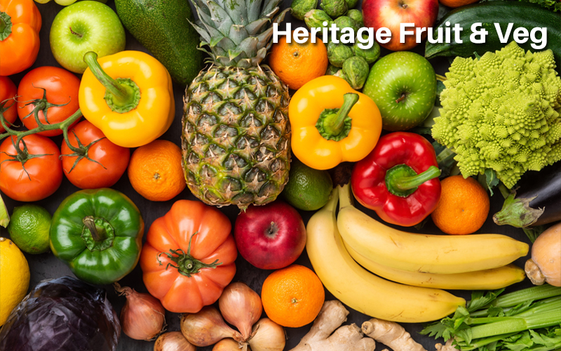 Heritage Fruit & Veg [Learning With Experts]