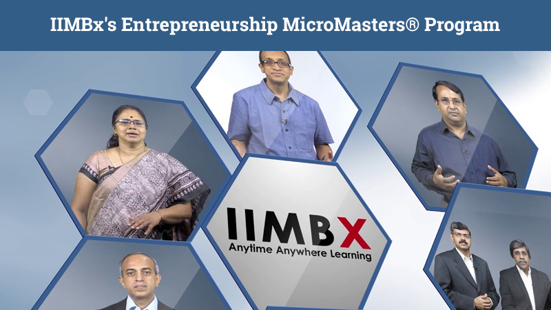 IIMBx's Entrepreneurship MicroMasters® Program [EdX]