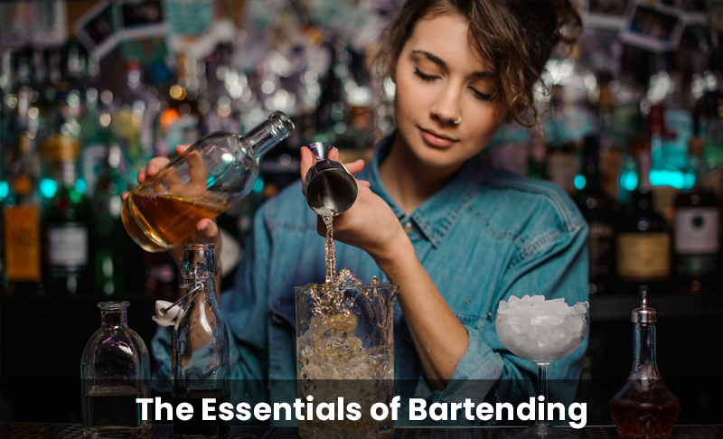 The Essentials of Bartending [European Bartender School]