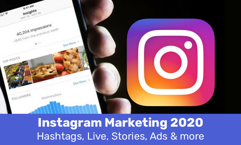 Instagram Marketing 2020: Hashtags, Live, Stories, Ads & more (Udemy)