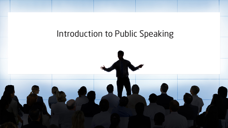 Introduction to Public Speaking [Coursera]