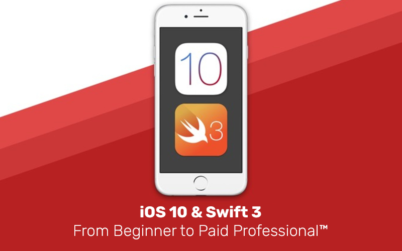 iOS 10 & Swift 3: From Beginner to Paid Professional™ (Udemy)